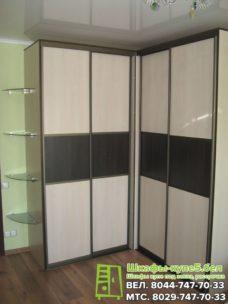 Угловой шкаф-купе под заказ в Минске